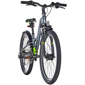 s'cool XXlite 24 21-S - Bicicletas para niños - alloy gris